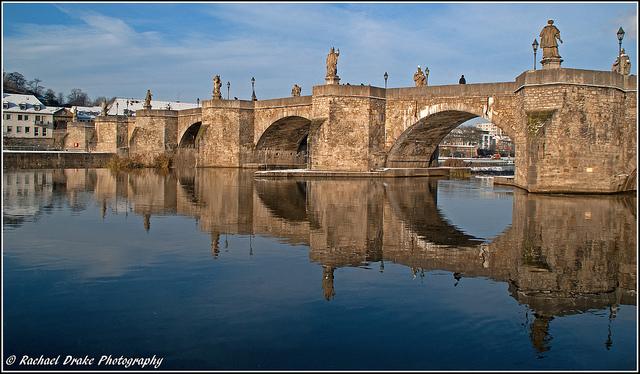 Alte Mainbrücke over the Main River, Würzburg (photo from Wikipedia)