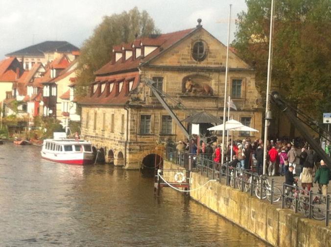 Old Bamberg slaughterhouse, 10-21-14 (photo taken by Barbara)