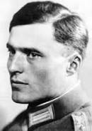 Claus Schenk Graf von Stauffenberg (Nov. 15, 1907--July 21, 1944) (photo from jewishvirtuallibrary.org)