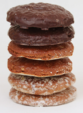 Stack of Lebkuchen (photo by germanfoodguide.com)