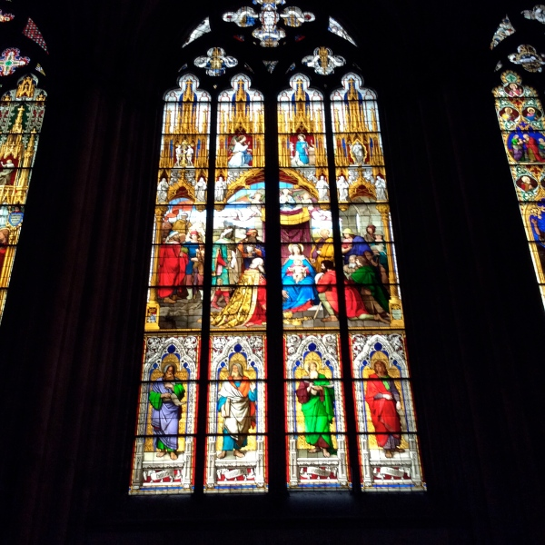Beautiful Cathedral windows, 10-17-14