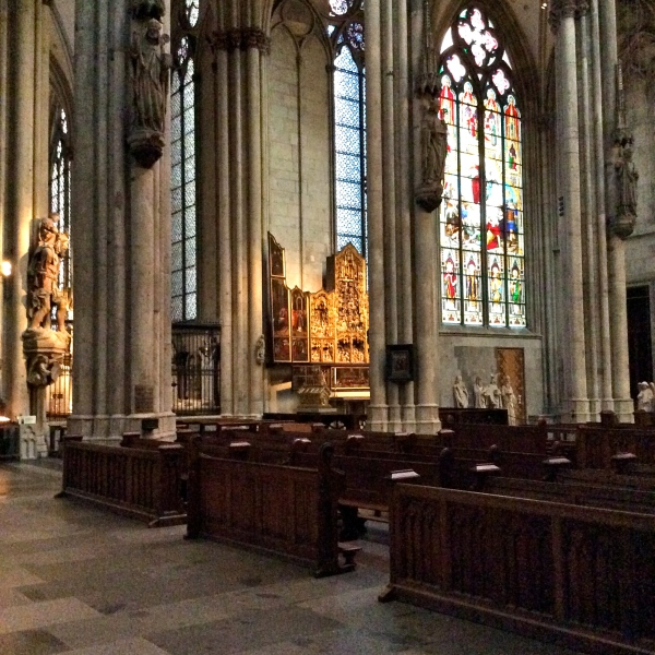 Interior of Cathedral where the 3 Magi relics are kept, 10-17-14