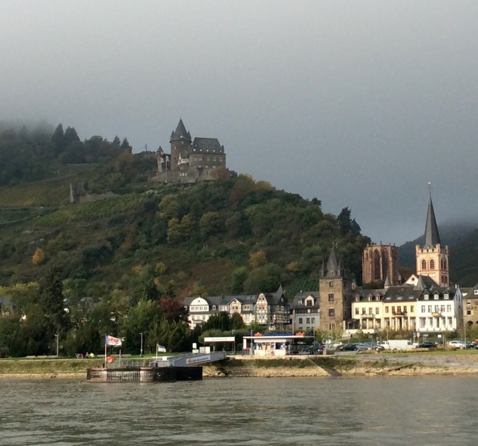 Stahleck Castle, near the town of Bacharach, Germany, 10-18-14
