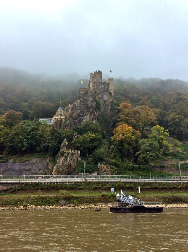 Rheinstein Castle near the town of Trechtingshausen in Rhineland-Palatinate, 10-18-14