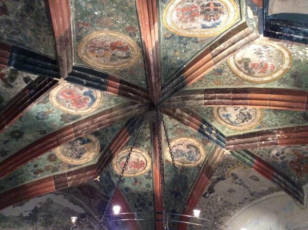 Antechamber ceiling, 10-18-14