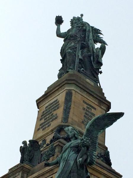 Niederwald Monument, 10-18-14 (photo taken by Lois)