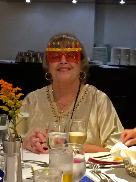 Ann, the birthday girl, on 10-18-14
