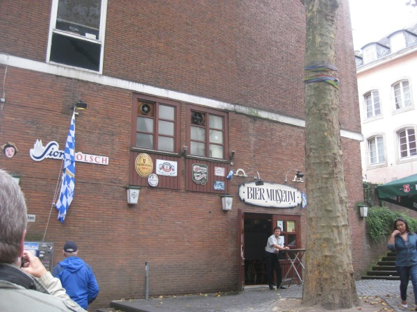 Another view of Cologne's Bier Museum, 10-17-14
