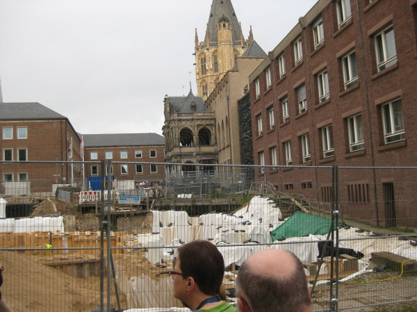 "Excavation of the ""Judengasse"" in Cologne, 10-17-14"