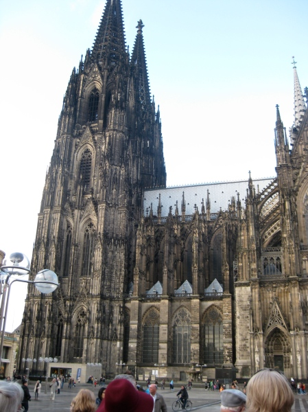 Cologne's Gothic Cathedral, 10-17-14