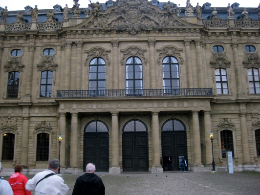 The Residenz front doors, 10-20-14