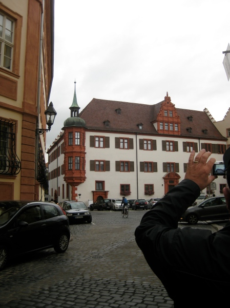 Other interesting buildings in Würzburg, 10-20-14