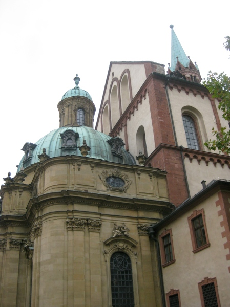 North transept of Cathedral & Schönborn Chapel
