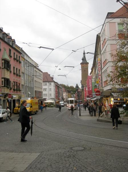 Another Würzburg street, 10-20-14