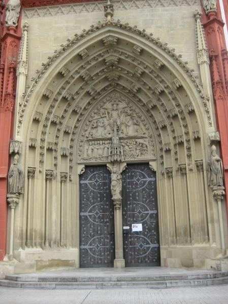 Another door of the Marienkapelle, 10-20-14