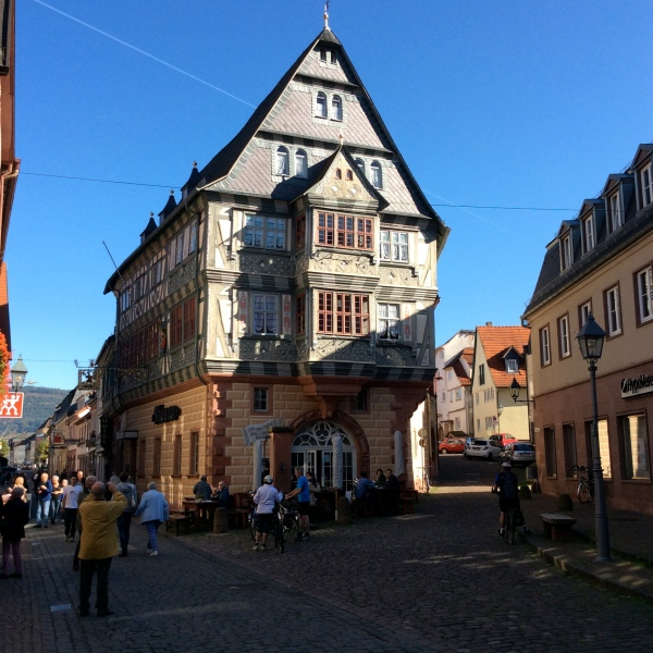 Gasthaus zum Riesen (the giant's house), probably Germany's oldest inn, 10-19-14