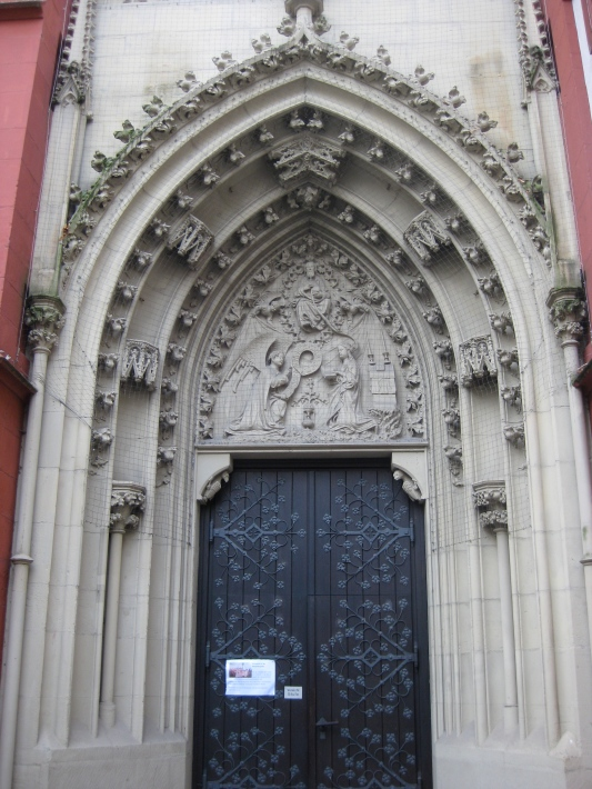 North portal of Marienkapelle, 10-20-14