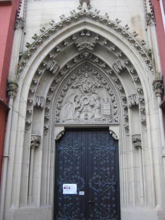 North portal of Marienkapelle, 10-20-14