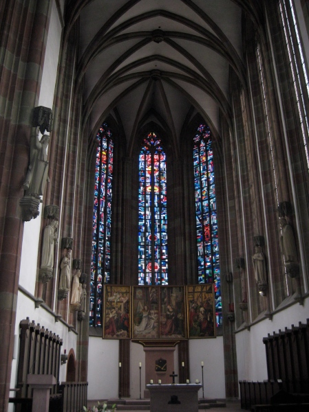 The altar in Marienkapelle, 10-20-14