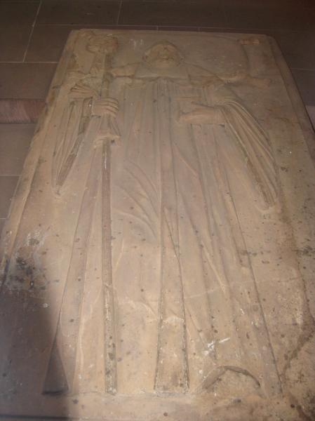A tomb inside Marienkapelle, 10-20-14