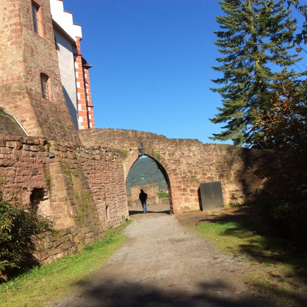 Entering through the castle wall, 10-19-14