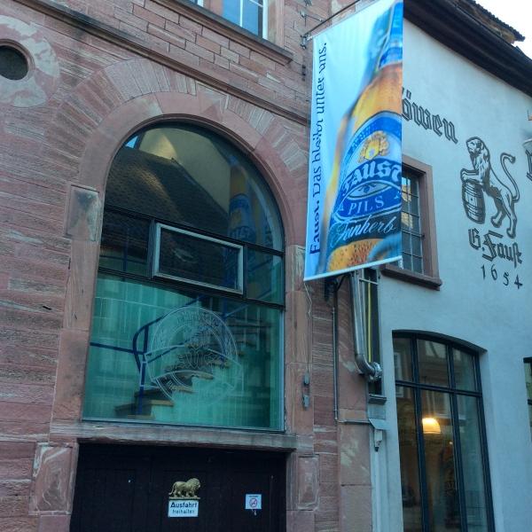 The Faust Brauerei on 10-19-14