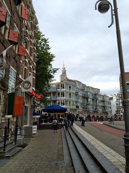 Amsterdam street scene, 10/15/14