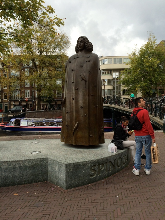 Statue of Dutch philosopher Baruch Spinoza (10/15/14)