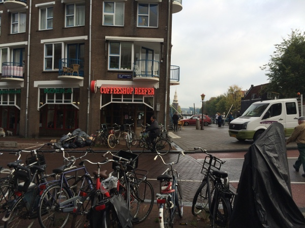 Coffeeshop Reefer, Amsterdam, 10-16-14