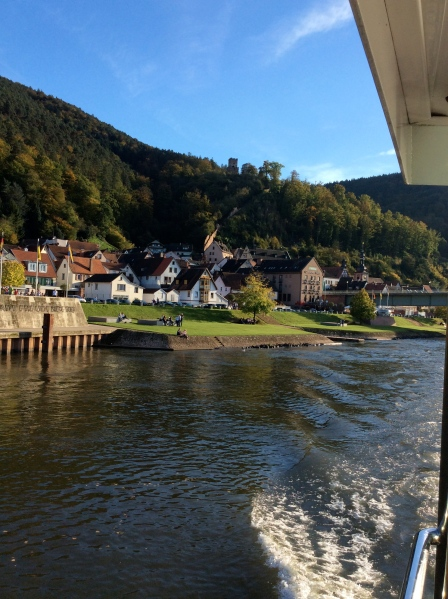 Leaving the Miltenberg area, 10-19-14
