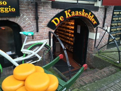 Cheese shop in Amsterdam, 10-15-14