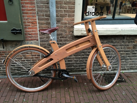 Hotel Droog wooden bicycle, Amsterdam, 10-16-14