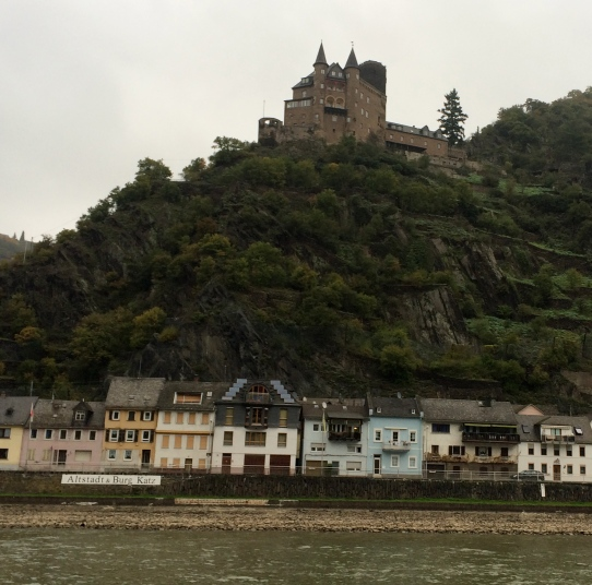 Katz Castle, above the town of St. Goarshausen, 10-18-14