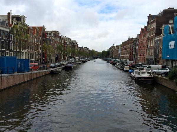Amsterdam canal scene, 10-16-14