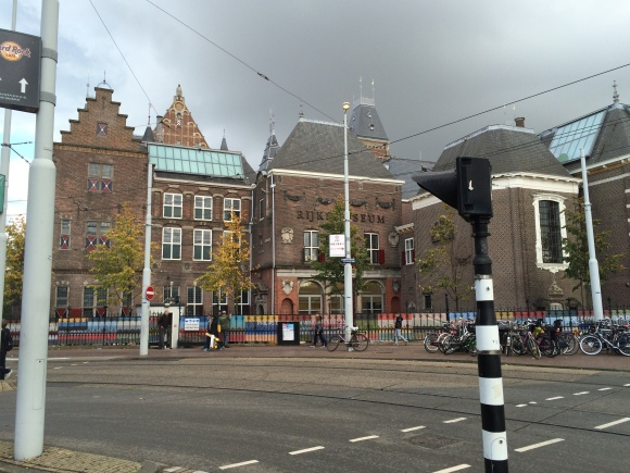 The Rijksmuseum, the largest museum of art & history in The Netherlands (10/16/14)