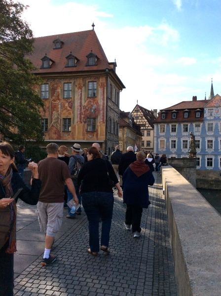Walking on the bridge, 10-21-14