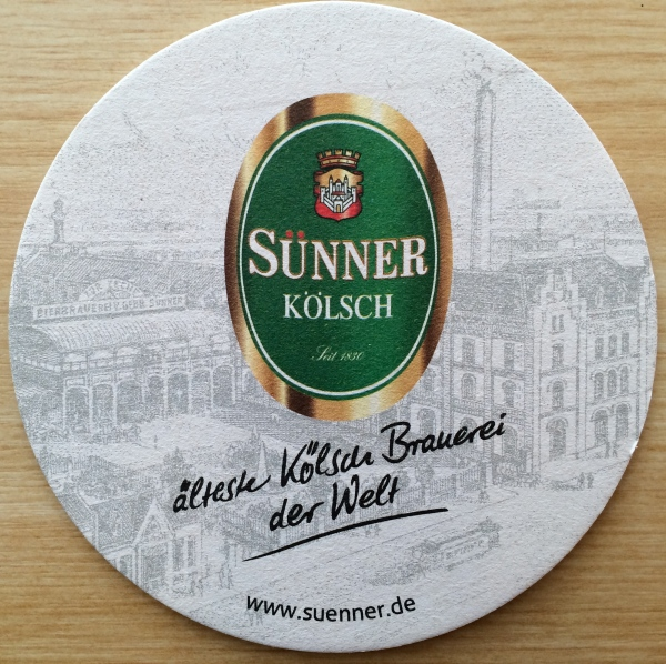 My beer coaster, 10-17-14