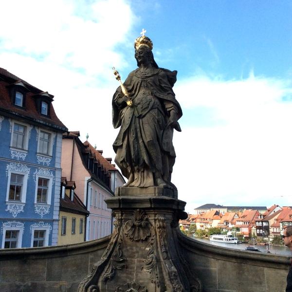 Kaiserin Kunigunde statue, 10-21-14