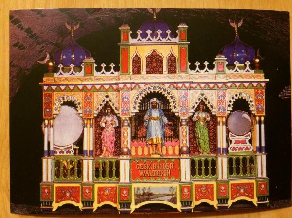 Gebruder Brothers Carousel Organ (postcard)