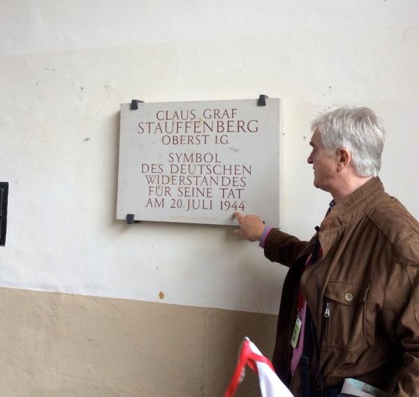 The memorial to Claus Schenk Graf von Stauffenberg, 10-21-14