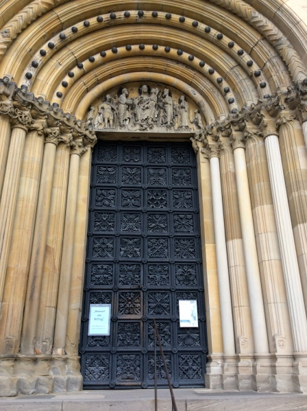 The Cathedral doors, 10-21-14