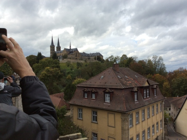 Another view of Michaelsberg Abbey, 10-21-14