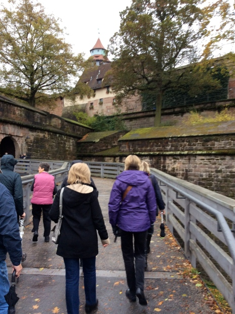Following Susan and some of the others up to the castle, 10-22-14