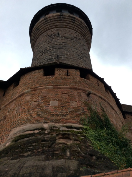 Looking up at one of the towers, 10-22-14