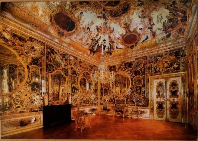 Spiegelkabinett (Mirror Cabinet/Room), (postcard)