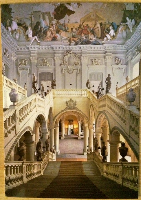 Grand Staircase (postcard)