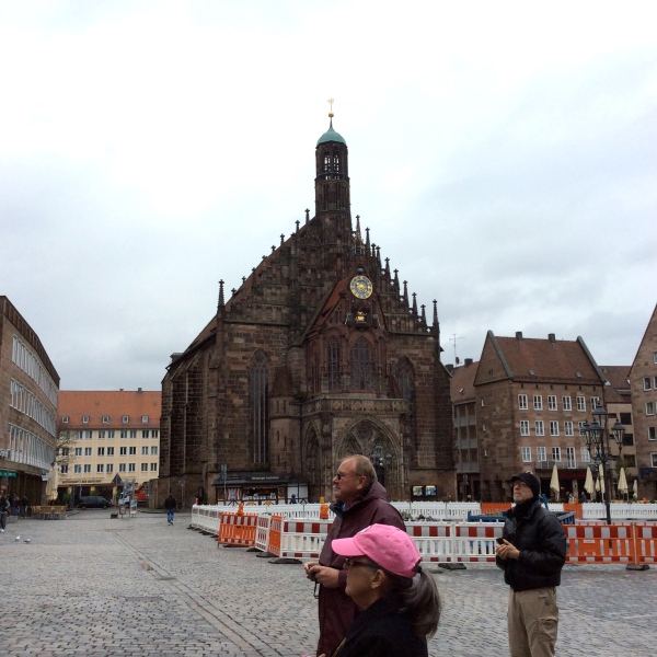 The Frauenkirche (Church of Our Lady) in the Hauptmarkt, 10-22-14