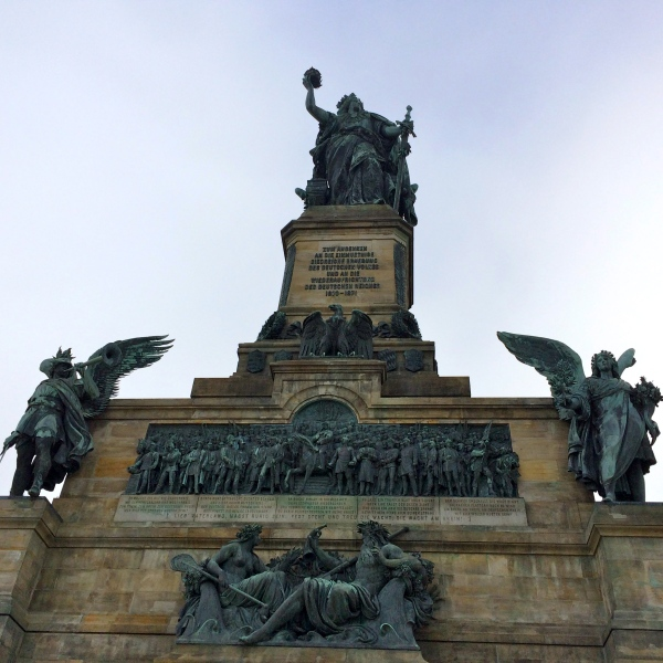 Niederwald Monument above Rüdesheim, 10-18-14 (photo taken by Lois)