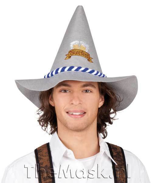 Pointy Bavarian hat, (photo by themask.nl)