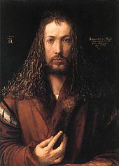 Self-portrait of Albrecht Dürer (photo from Wikipedia)